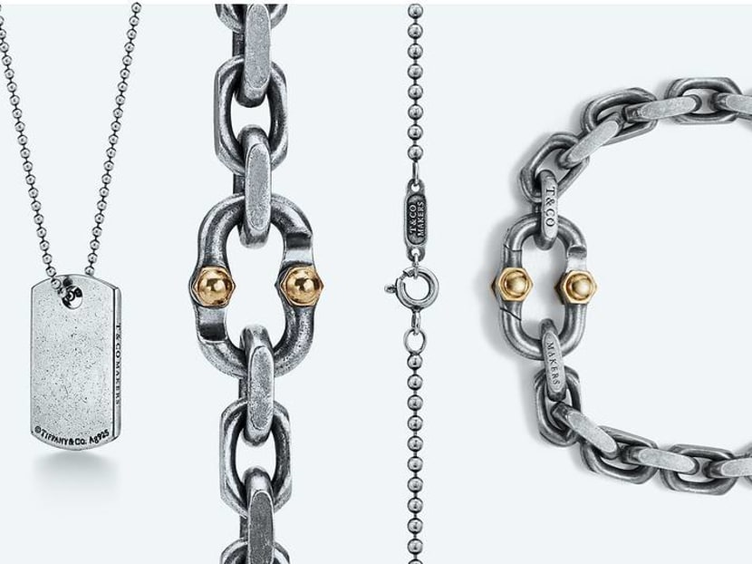Heavy metal: Tiffany & Co's rugged men's jewellery is coming to Singapore