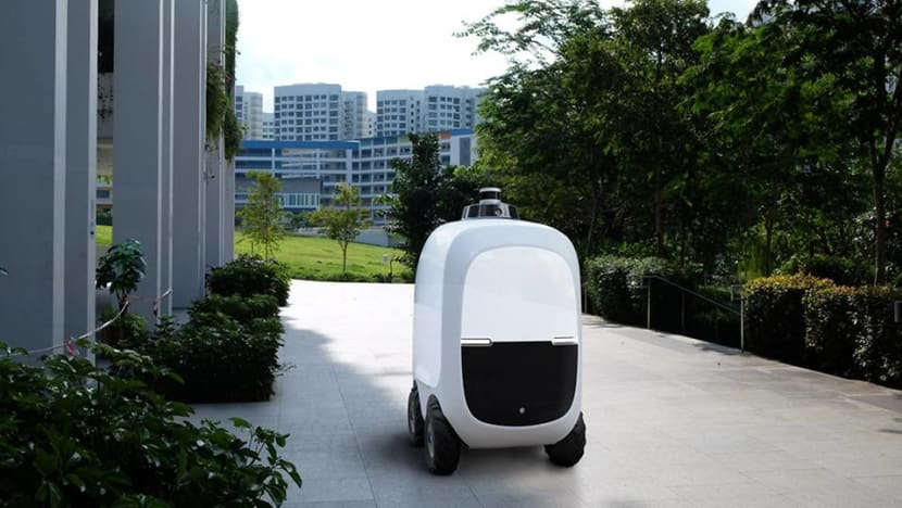 Robots to deliver groceries and parcels to Punggol HDB residents as part of a trial