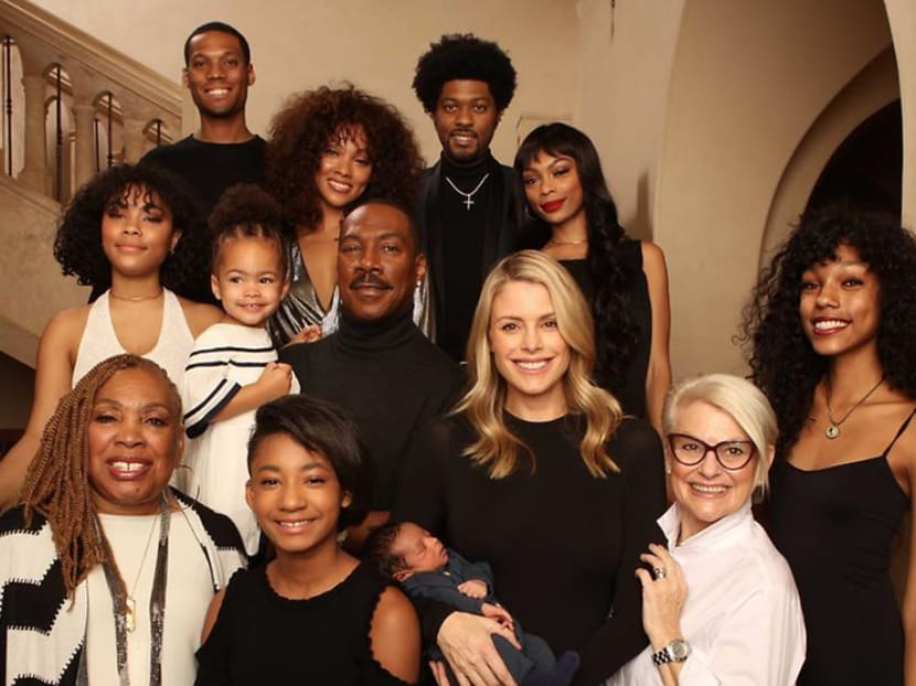 Eddie Murphy shows off 10th child – 3-week-old Max Murphy – on social media