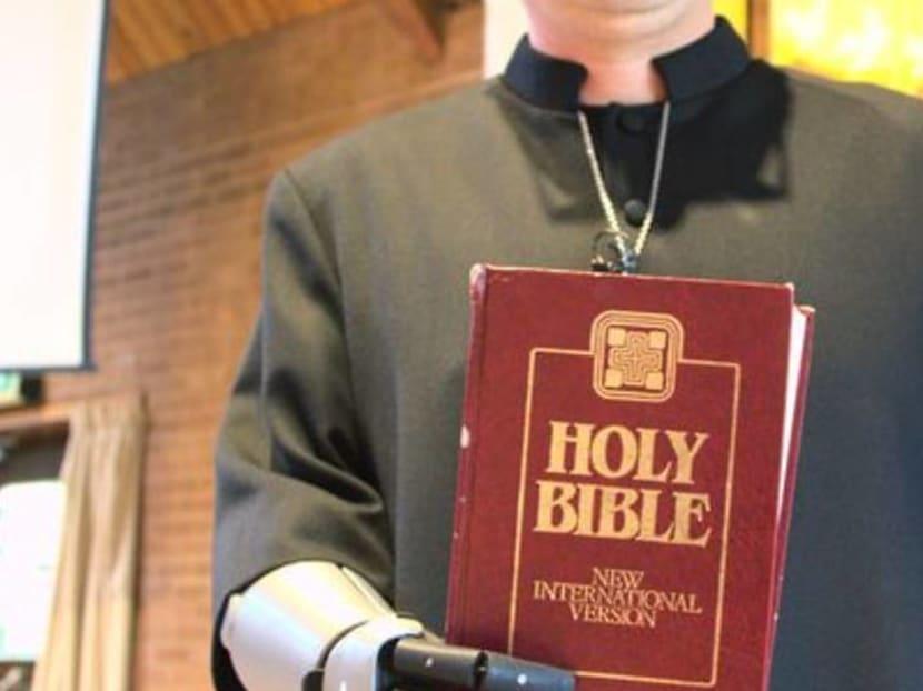 Bionic arm answers trainee vicar's prayers