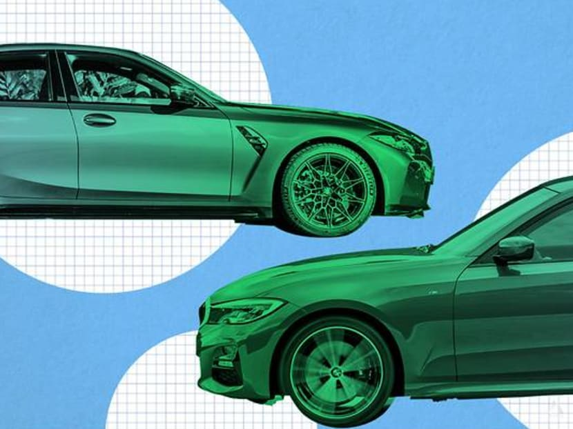 BMW's M3 is twice as powerful and pricey as the 318i, but is it twice as nice?