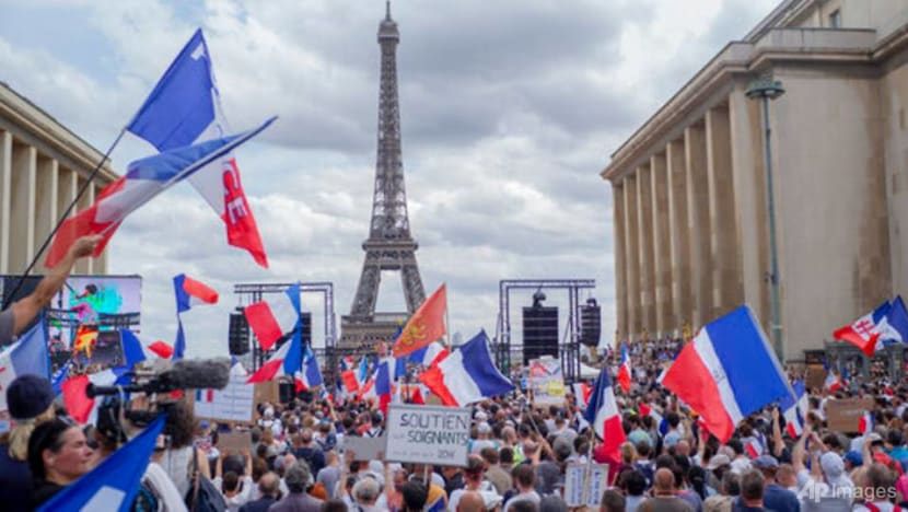 COVID-19: Macron calls for unity after anti-vaccine protests in France