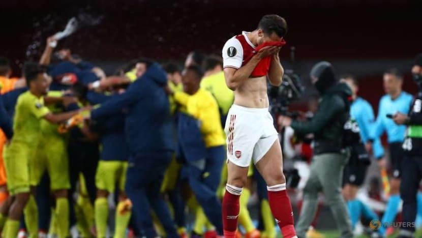 Soccer-Joy for Emery as Villarreal hold Arsenal to reach Europa League final