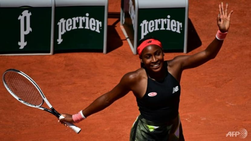 Tennis: Gauff becomes youngest Grand Slam quarter-finalist in 15 years
