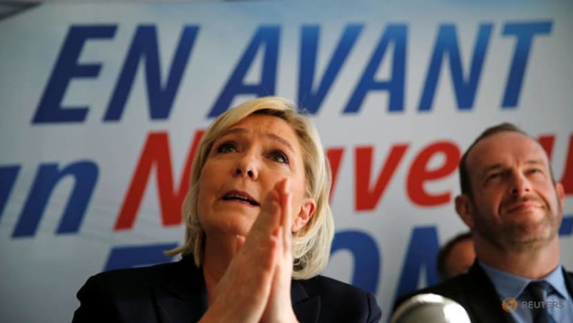 France's Le Pen slams report over alleged embezzlement