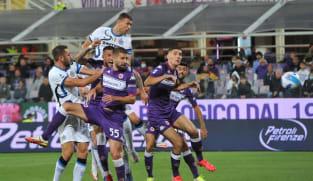 Football: Inter go top with comeback win at Fiorentina