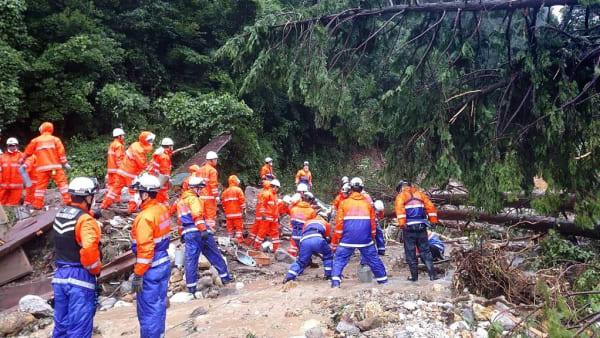 One dead, two missing as torrential rains slam Japan; risk alerts broadened