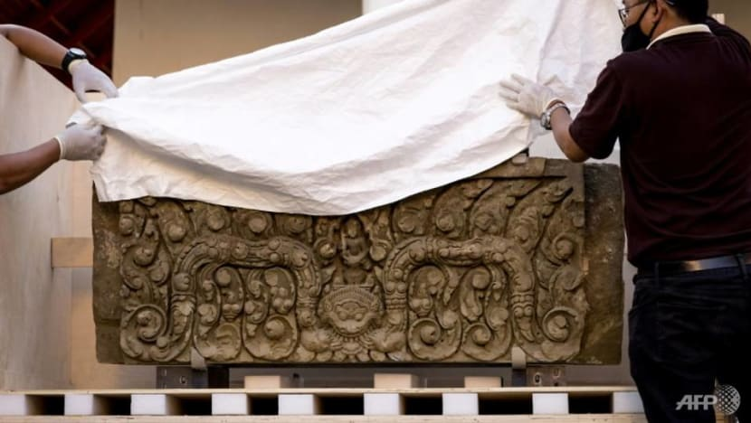 Thai museum unveils 1,000-year-old artefacts returned from US
