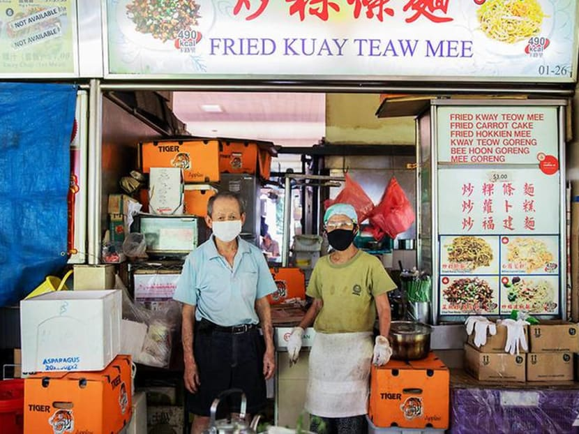 The Big Read: Floundering in digital wave, older hawkers could call it quits - taking a piece of Singapore with them