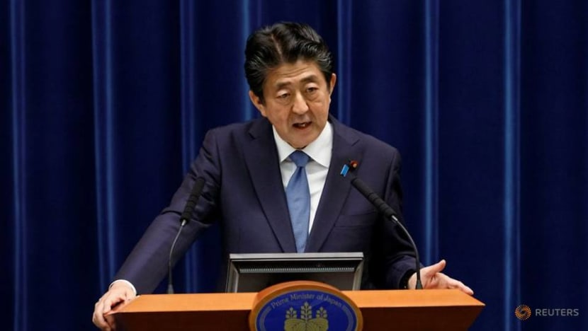 What happens if Japanese PM Abe is incapacitated, or resigns?
