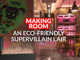 Step inside this edgy, 'post-apocalyptic' 4-room HDB flat   CNA Lifestyle