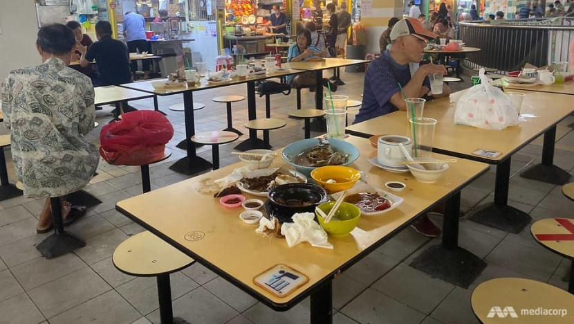Strong support for diners clearing tables at public eating areas, but practice lacking: NEA