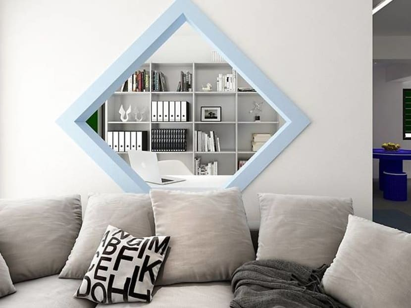 Public-private space: Interior design creatives imagine void deck-themed home