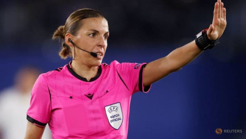 Frappart to become first female referee to officiate men's Champions League game