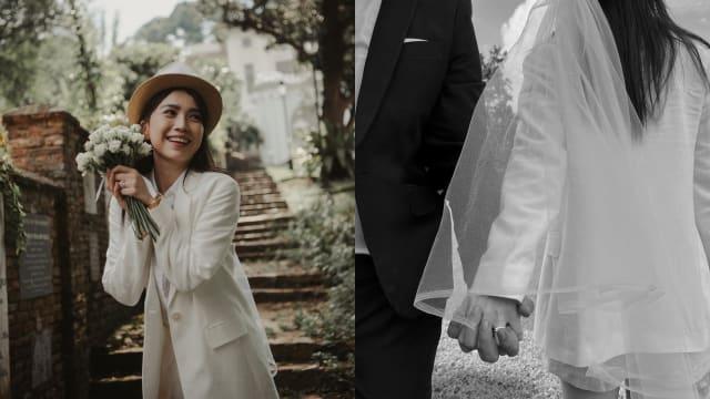 与大8岁圈外人注册结婚 马艺瑄兴奋喊:我们领证了!