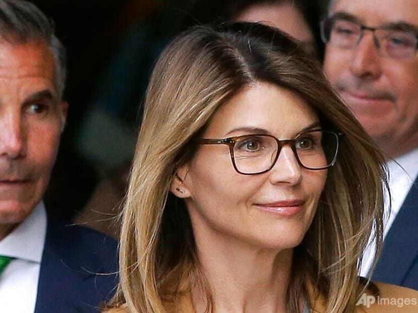 Actress Lori Loughlin, husband await prison fate in college admissions scandal