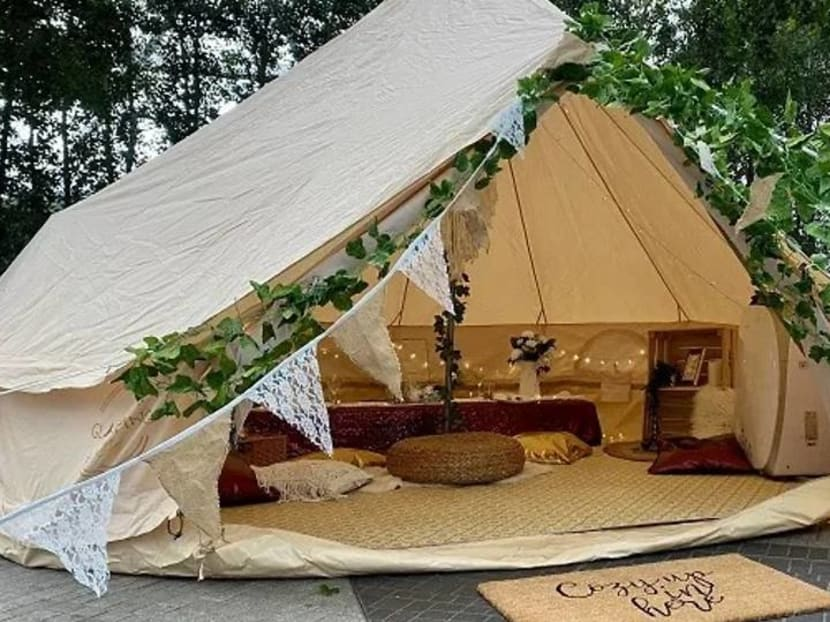 Pack your bags: You can now enjoy a glamping holiday at Jewel Changi Airport