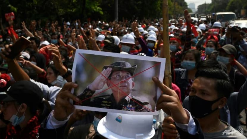 Internet access partially restored in Myanmar as protests grow against military coup