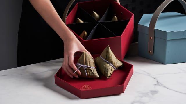 端午粽每日新鲜出炉 如切金珠推出精美自选礼盒