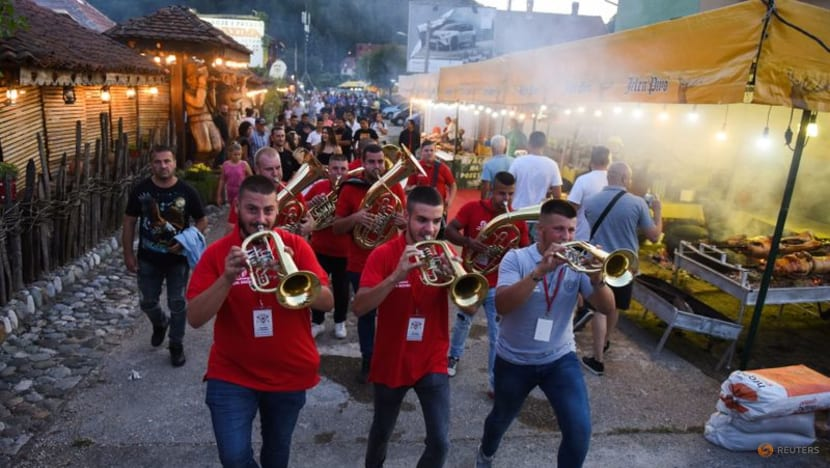 Musicians at Serbian trumpet festival play on despite pandemic