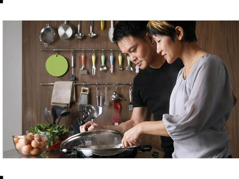 In Singapore and Hong Kong, couples who cook together stay together