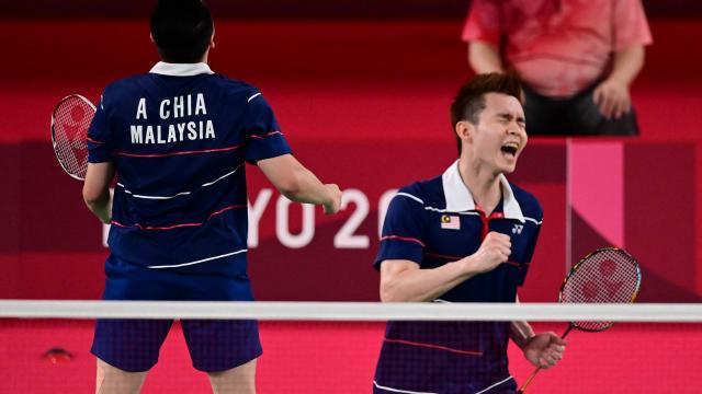 马国谢苏逆转力擒印尼二号种子 摘下羽毛球男双铜牌