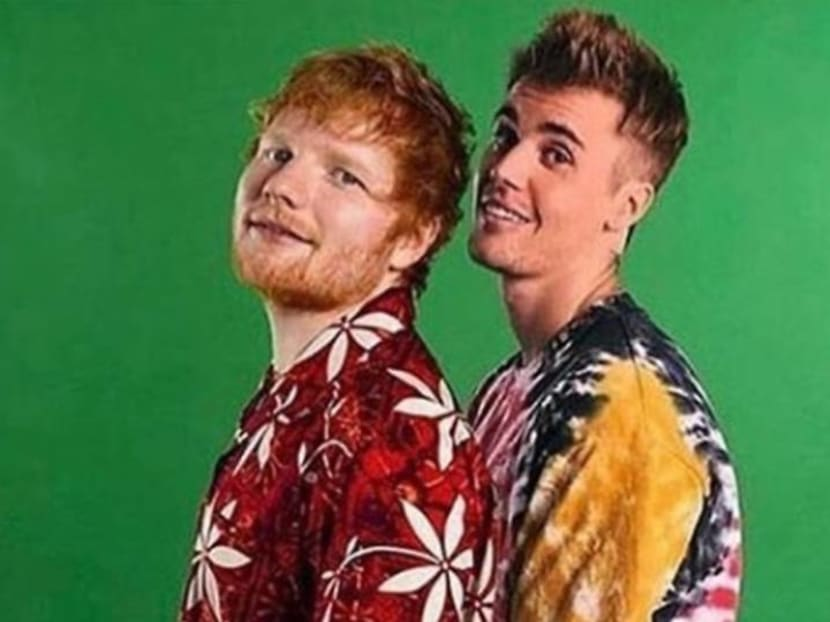 Listen to a preview of the new Justin Bieber and Ed Sheeran collaboration