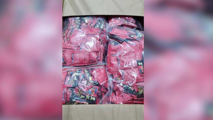 ICA seizes 110kg of sex enhancement products, condoms