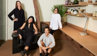 Who are the designers behind some of Singapore's fanciest society weddings and events?