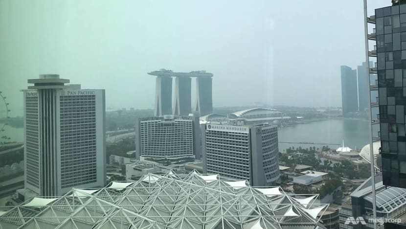 Visibility in Singapore drops to as low as 3km on Monday amid hazy conditions: NEA