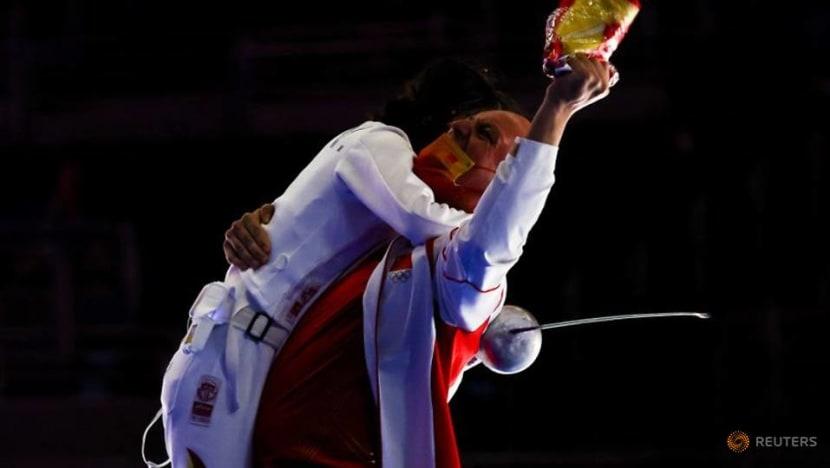 China's Sun wins women's epee individual gold