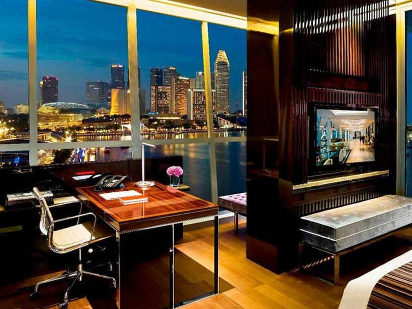 Tired of working from home? You can book a suite to work from a hotel instead