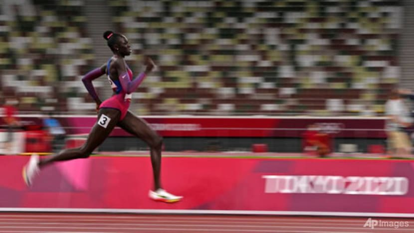 Athletics: Mu ends long American wait for women's 800m gold