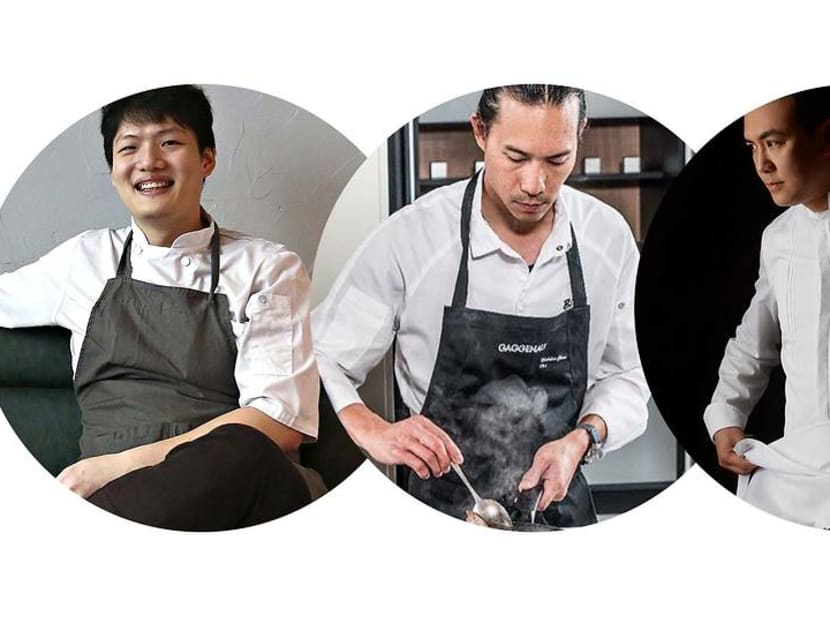 Who are the Singapore fine-dining chefs flying the flag high in Hong Kong?