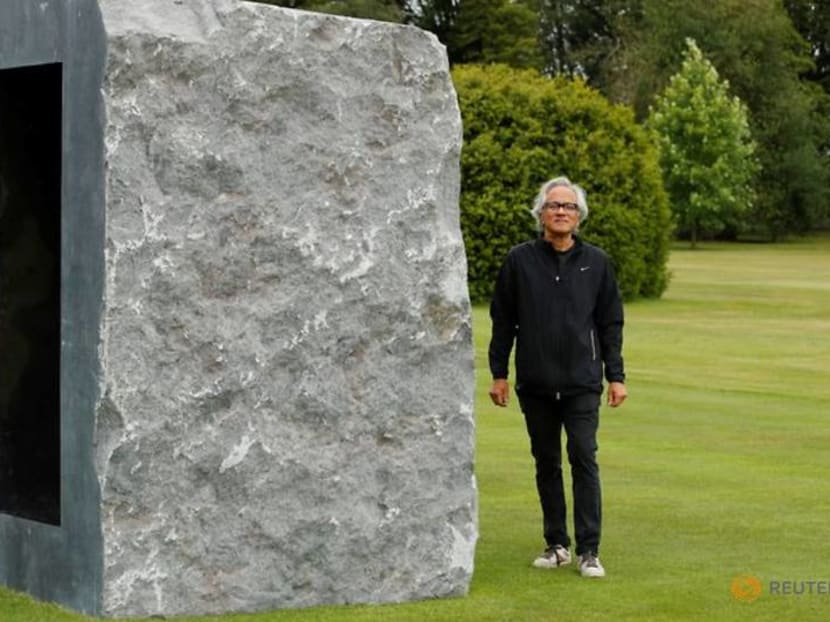 Sculptor Anish Kapoor exhibits at Houghton Hall in former PM Robert Walpole's mansion