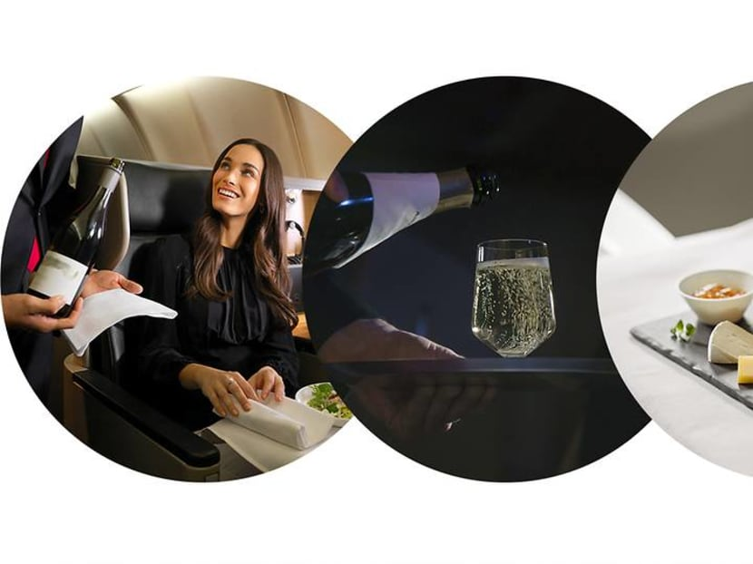 We'll drink to that: The airlines pouring the best wines in premium class