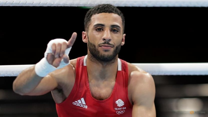 Olympics-Boxing-Brit Yafai goes from factory floor to Olympic final