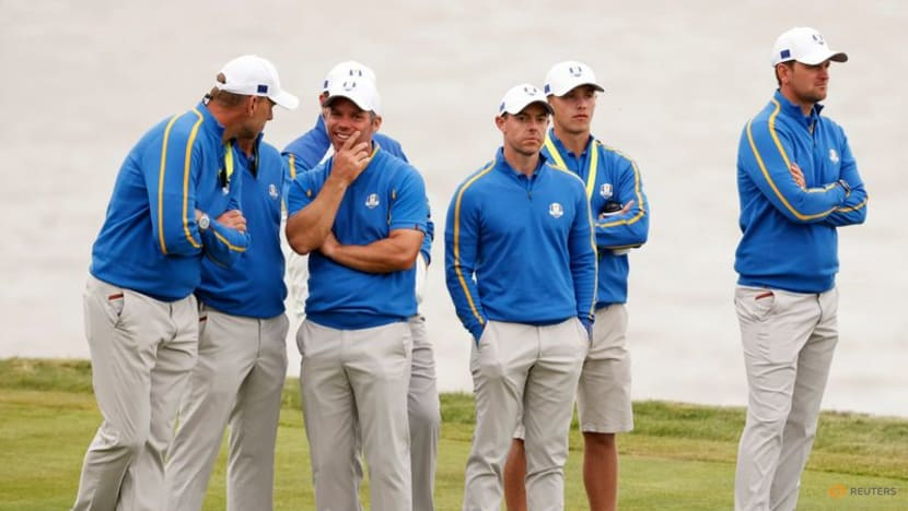 Europe drop McIlroy for Saturday's foursomes line-up in Ryder Cup