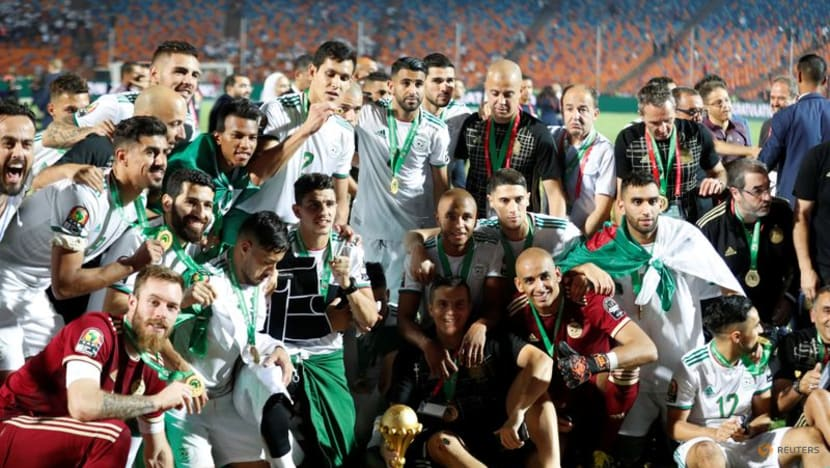 Soccer-Tough draw for Africa Cup of Nations holders Algeria