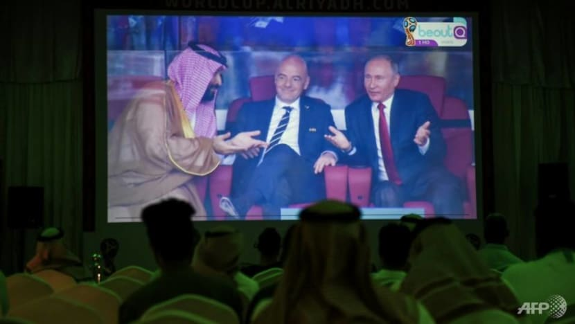 Commentary: Saudi Arabia wants to muscle in on World Cup 2022. Will Qatar let it?