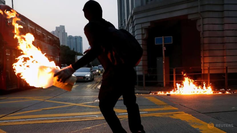 Commentary: Hong Kong campus siege widens split between moderates, radicals
