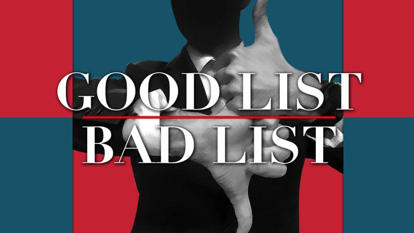 Good List/Bad List with Steve Lai