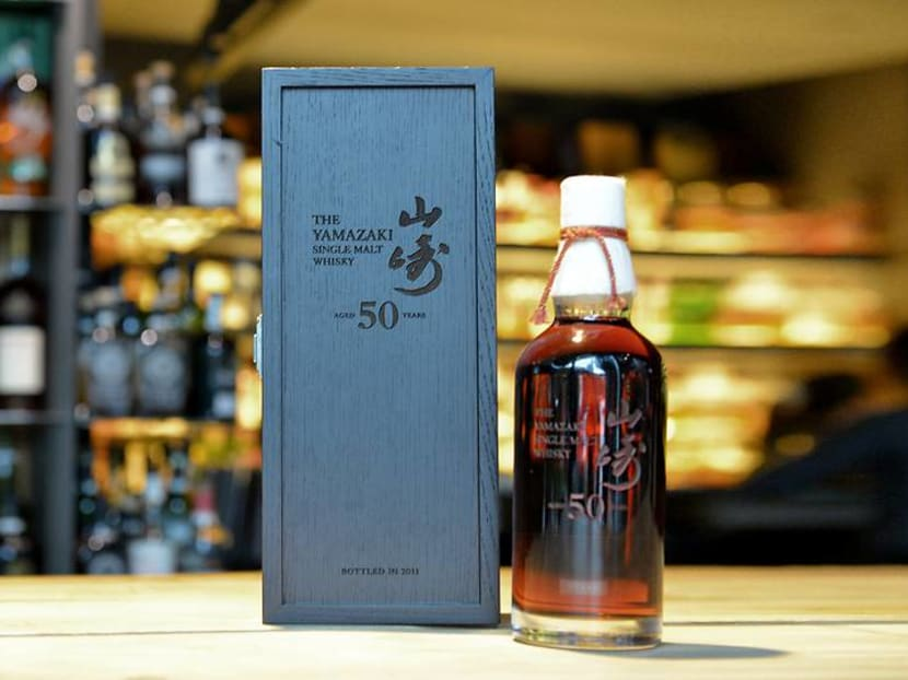 Rare sips: Yamazaki 50, Brora 30 and a cognac from 1848 available in Singapore