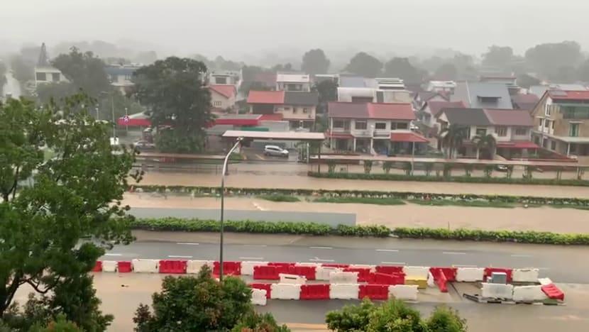 Flash floods in parts of Singapore amid 'prolonged heavy rain': PUB