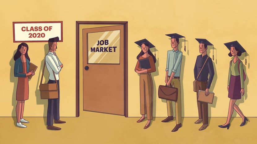 The Big Read: In a prolonged crisis, pragmatism rules as recent graduates put dreams on hold