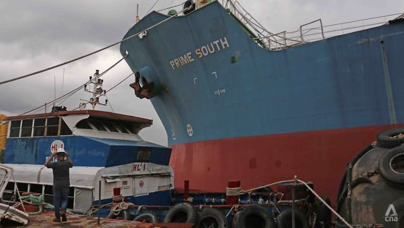 Want to buy a ship? Oil tanker that received stolen fuel in Shell Bukom heist up for police auction