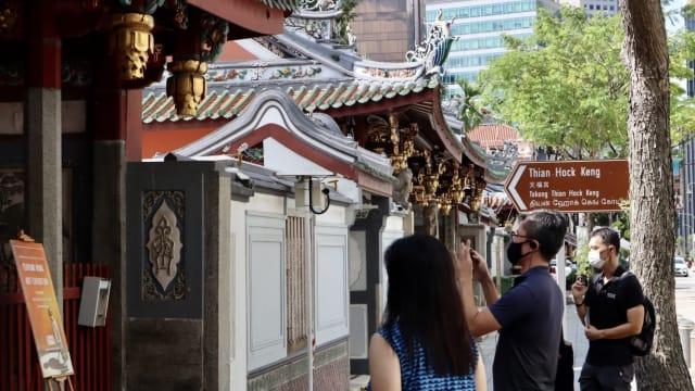 """""""新加坡华人""""导览团 带你深度探索本地华人文化"""