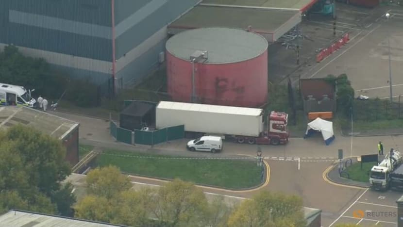 39 people found dead in truck container: UK police