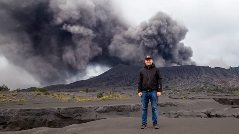 Meet the volcano chaser documenting Indonesia's volatile craters