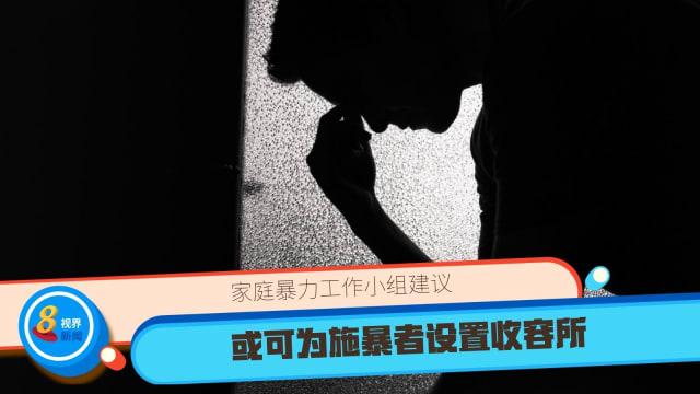 家庭暴力工作小组建议 或可为施暴者设置收容所